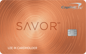 Capital One Savor Dining Rewards Credit Card