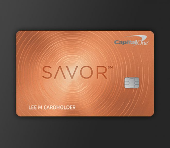 Savor Card from Capital One