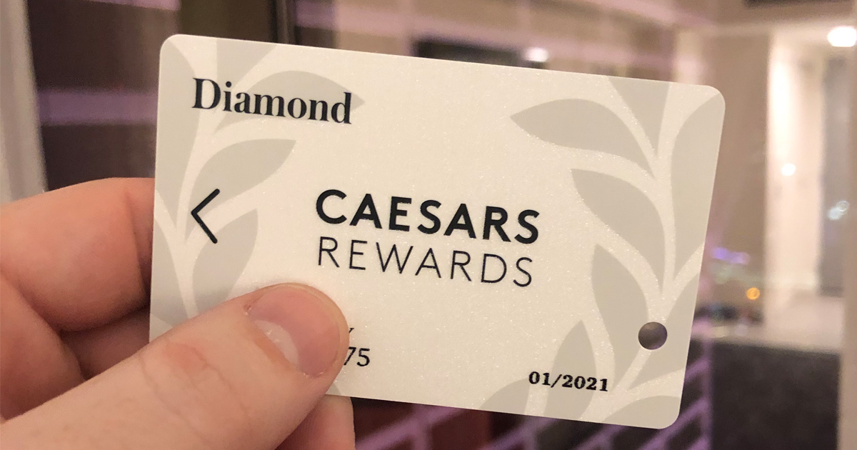 Diamond Status at Caesars in Las Vegas