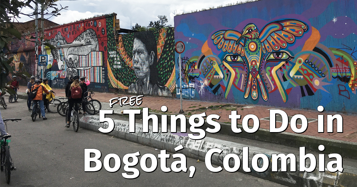 Free things to do in Bogota, Colombia